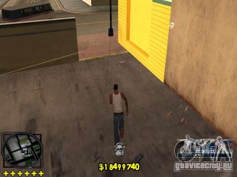 C-HUD Ghetto Life для GTA San Andreas пятый скриншот