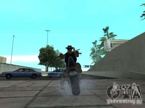 Angel GTA 4 TLaD для GTA San Andreas вид сзади слева
