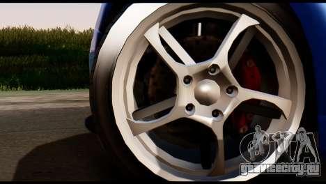 GTA 5 Dewbauchee Rapid GT Coupe [HQLM] для GTA San Andreas вид сзади слева