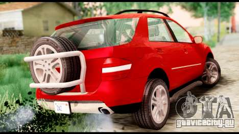 Mercedes-Benz ML500 v.2.0 Off-Road Edition для GTA San Andreas