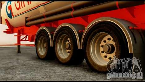 Mercedes-Benz Actros Trailer Giraud для GTA San Andreas вид справа