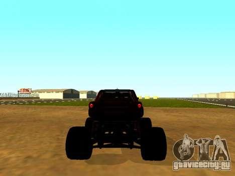 SuperMotoXL Zen MaXXimus CD 17.1 XL-HT для GTA San Andreas вид сзади слева