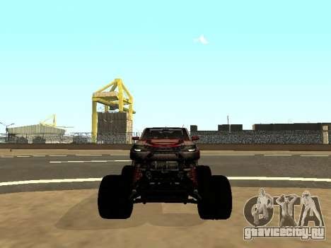 SuperMotoXL Zen MaXXimus CD 17.1 XL-HT для GTA San Andreas вид сверху
