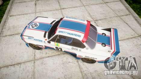 BMW 3.0 CSL Group4 [93] для GTA 4 вид справа