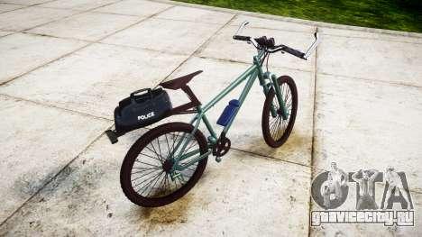 Полицейский горный велосипед [ELS] для GTA 4 вид слева