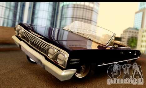 Chevrolet Impala 1963 для GTA San Andreas
