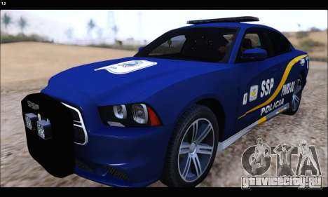 Dodge Charger SXT PREMIUM V6 SSP DF 2014 для GTA San Andreas
