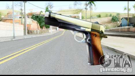 Colt 1911A1 from Metal Gear Solid для GTA San Andreas