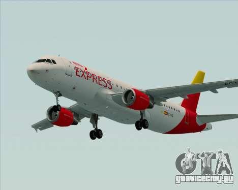 Airbus A320-200 Iberia Express для GTA San Andreas вид сбоку