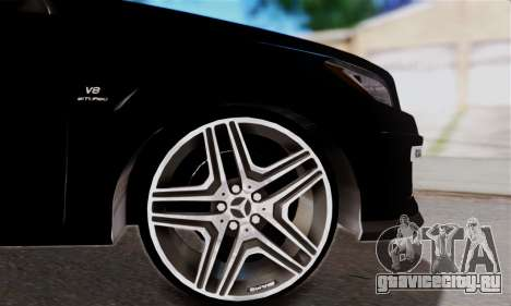 Mercedes-Benz ML63 AMG для GTA San Andreas вид сбоку