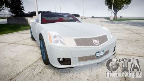 Cadillac XLR-V 2009 для GTA 4