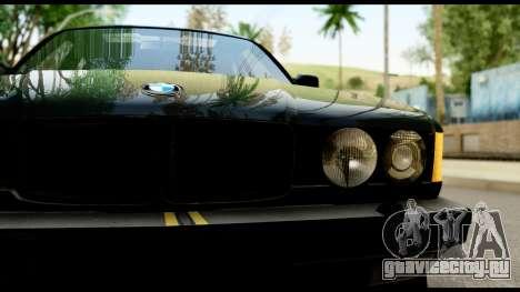 BMW E32 для GTA San Andreas вид справа