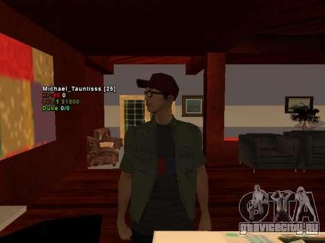 3D HUD CLEO для GTA San Andreas второй скриншот