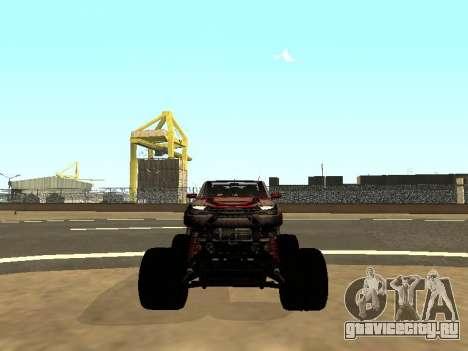 SuperMotoXL Zen MaXXimus CD 17.1 XL-HT для GTA San Andreas вид снизу