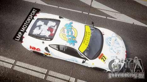 Ferrari F430 GT 2011 Pacific NAC Ikamusume для GTA 4 вид справа