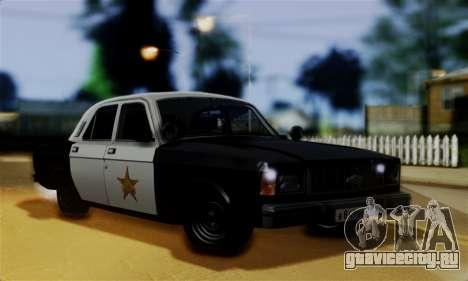 ГАЗ 3102 Волга - Шериф для GTA San Andreas