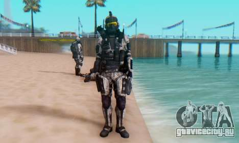 C.E.L.L. Soldier (Crysis 2) для GTA San Andreas пятый скриншот