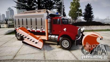 HVY Biff Snow thrower [ELS] для GTA 4