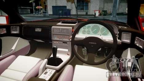 Mazda RX-7 1990 FC3s [EPM] для GTA 4 вид изнутри