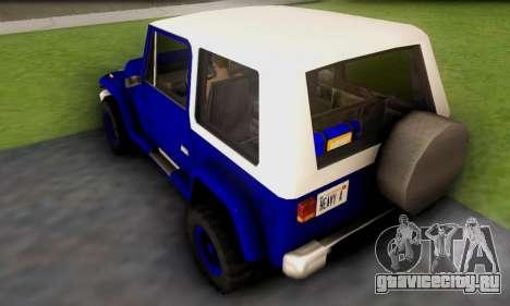 Messa Off-Road Styling pack v1 для GTA San Andreas вид сзади слева