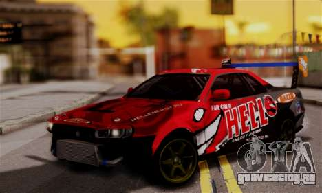 Nissan Skyline R34 HELL DT для GTA San Andreas