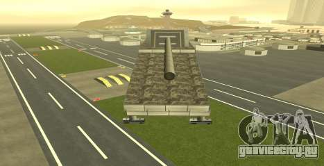 Landkreuzer P. 1500 Monster for GTA San Andreas для GTA San Andreas третий скриншот