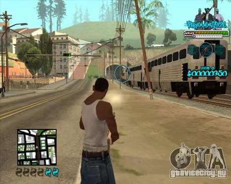 C-HUD for Aztecas для GTA San Andreas третий скриншот