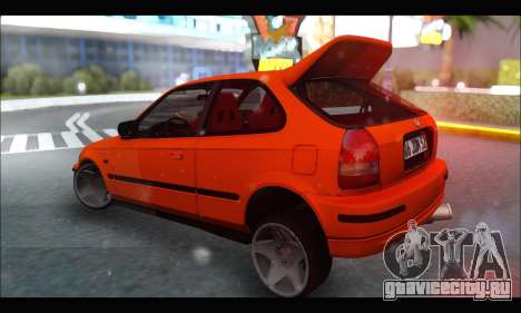 Honda Civic HB (JDM Family) для GTA San Andreas вид справа