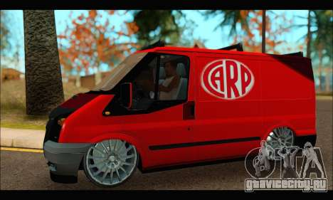 Ford Transit River для GTA San Andreas вид слева