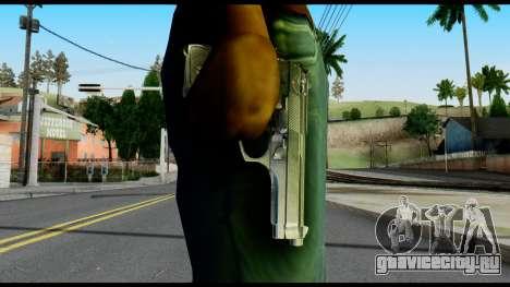 Beretta from Max Payne для GTA San Andreas третий скриншот