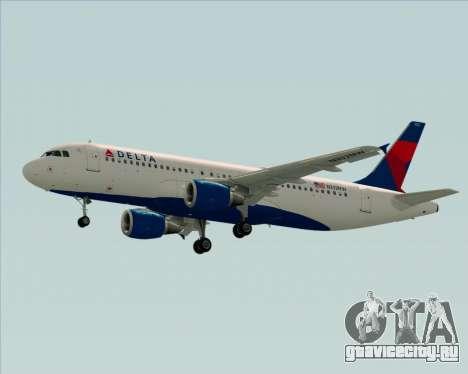 Airbus  A320-200 Delta Airlines для GTA San Andreas вид сбоку