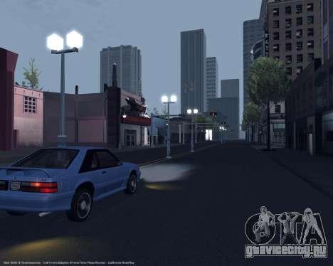 ENBSeries для слабых и средних ПК для GTA San Andreas шестой скриншот