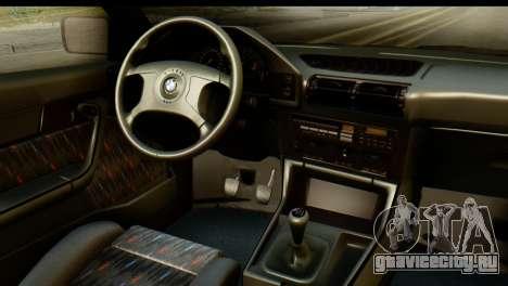 BMW M5 E34 Alpina для GTA San Andreas вид справа