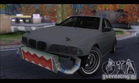 BMW e39 Drag Version для GTA San Andreas вид слева