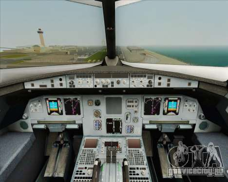 Airbus A320-200 Air India для GTA San Andreas салон