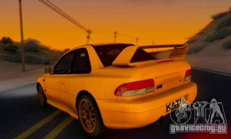 Subaru Impreza 22B STI (KATIL) для GTA San Andreas вид слева