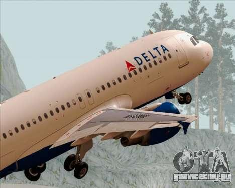 Airbus  A320-200 Delta Airlines для GTA San Andreas двигатель