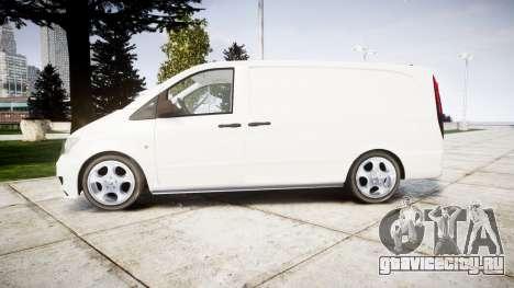Mercedes-Benz Vito GIGN [ELS] для GTA 4 вид слева