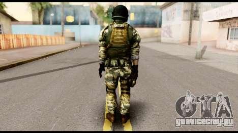 Support Troop from Battlefield 4 v1 для GTA San Andreas второй скриншот