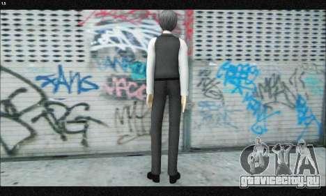 Kaneki Ken (Tokyo Ghoul) для GTA San Andreas третий скриншот