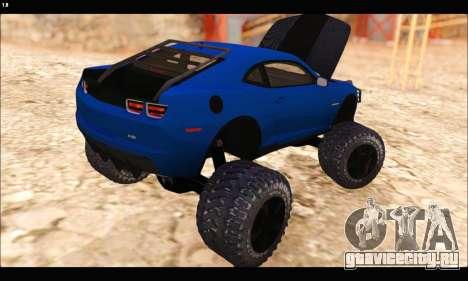Chevrolet Camaro SUV Concept для GTA San Andreas вид сбоку