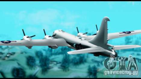 B-29 Superfortress для GTA San Andreas вид слева