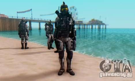 C.E.L.L. Soldier (Crysis 2) для GTA San Andreas четвёртый скриншот