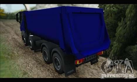 Iveco Trakker 2014 Tipper для GTA San Andreas вид справа