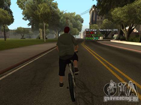 3D HUD CLEO для GTA San Andreas