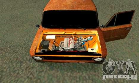 ВАЗ 2101 Ratlook v2 для GTA San Andreas вид сбоку