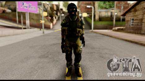 Support Troop from Battlefield 4 v1 для GTA San Andreas