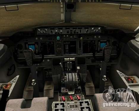Boeing 737-800 Air Philippines для GTA San Andreas салон