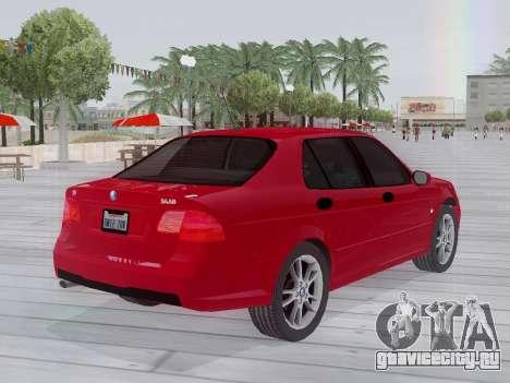 Saab 95 для GTA San Andreas вид сзади