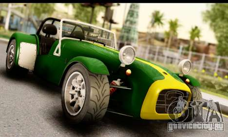 Caterham Seven 1995 для GTA San Andreas